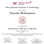 Starting off with MIT Big Data Certificate